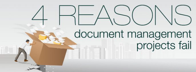 4 reasons document management projects fail