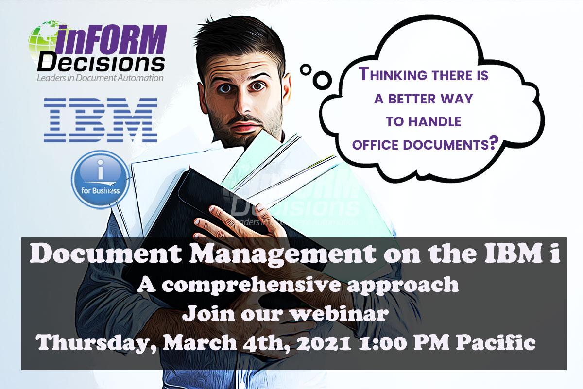 Document Automation on the IBM i
